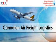 Domestic Logistics Services in Canada